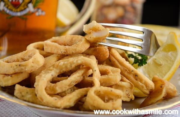пържени калмари рецепта калмари по гръцки
