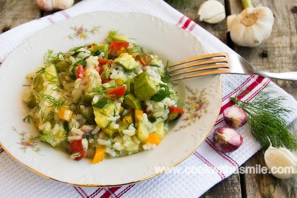 тиквички с ориз идеи за постни ястия с тиквички