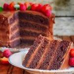шоколадова пудинг торта