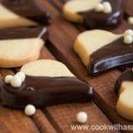 маслени бисквити с шоколад