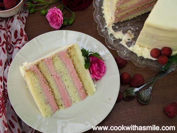 торта с малинов мус рецепта