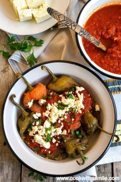 пържени-чушки-с-доматен-сос-рецепта