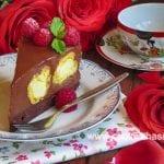 еклерова торта шоколадов ванилов крем