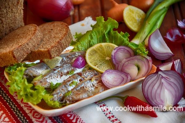маринован чернокоп маринован сафрид рецепта