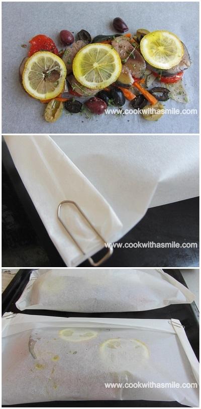 паламуд в пергаментова хартия рецепта стъпка по стъпка