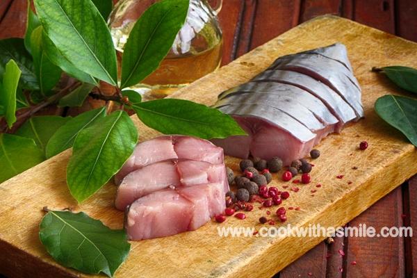 маринован паламуд рецепта за лакерда