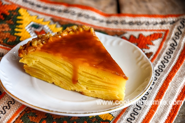 торта с ябълки ябълкова торта