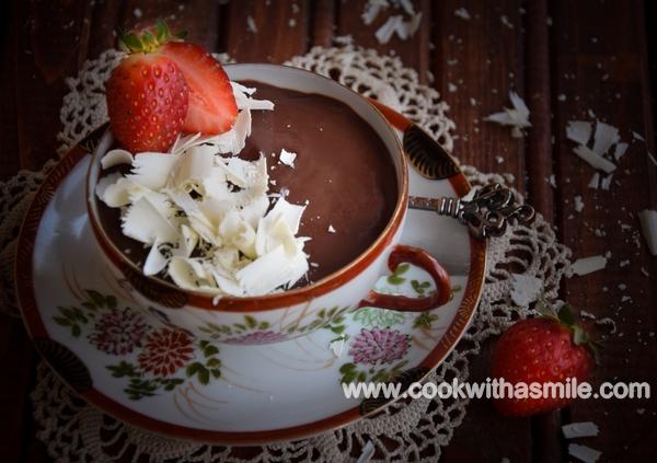 шоколадов крем шоколадов пудинг