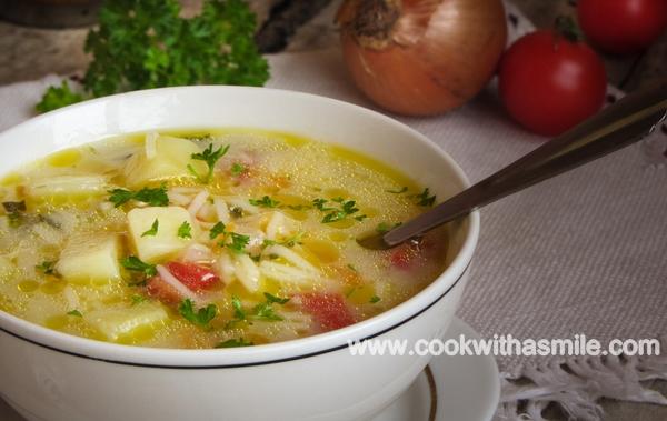 картофена супа зеленчукова супа