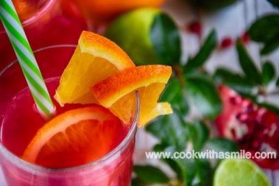 сок от нар портокали и лимони