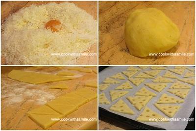 солени бисквити със сирене рецепта стъпка по стъпка