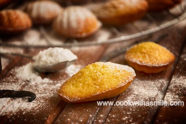 ванилови мадлени как се правят мадлени