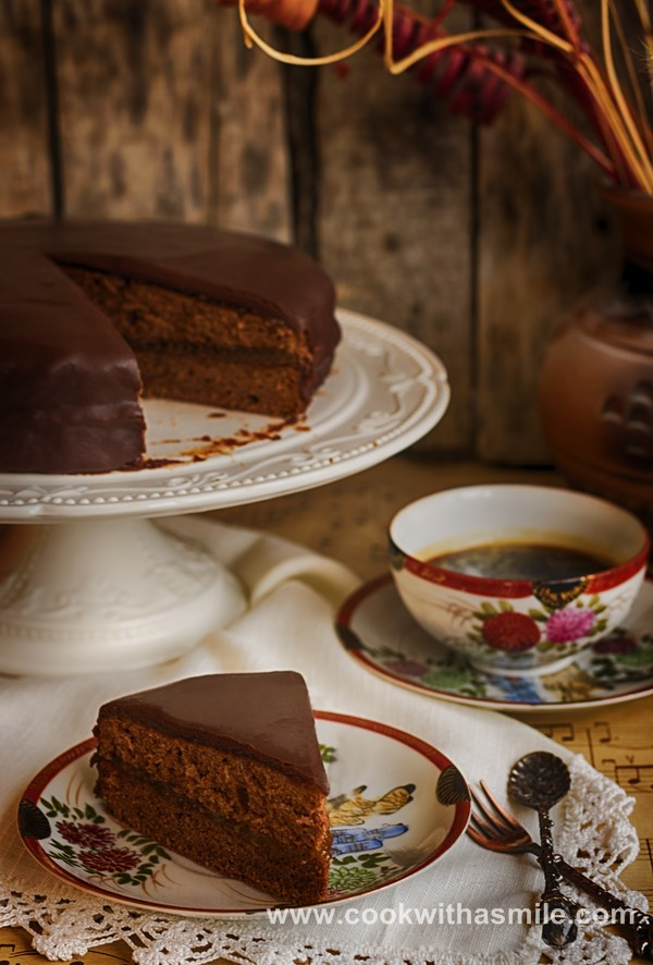 рецепта торта захер