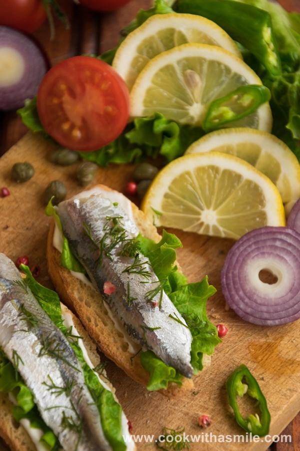 маринована сардина рецепта