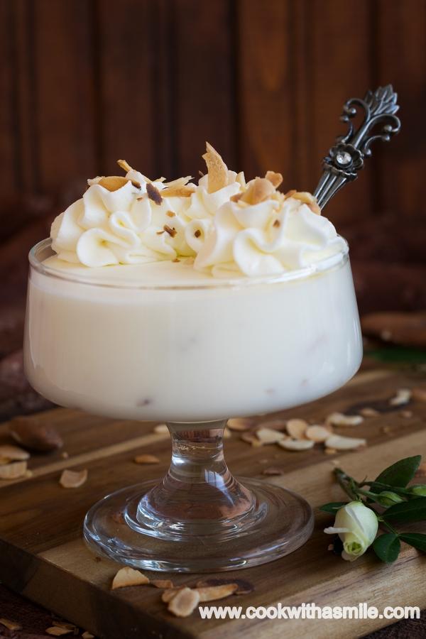 рецепта за бадемов крем