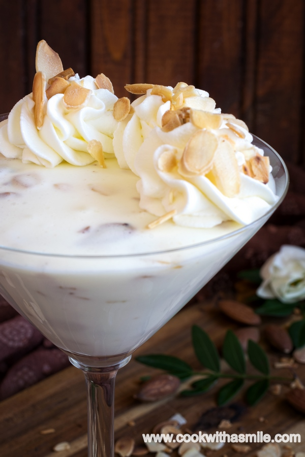 рецепта за крем с бадеми