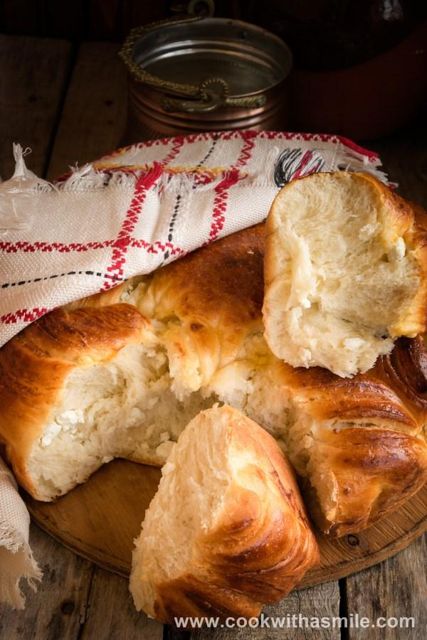 усукана питка със сирене рецепта усукана погача