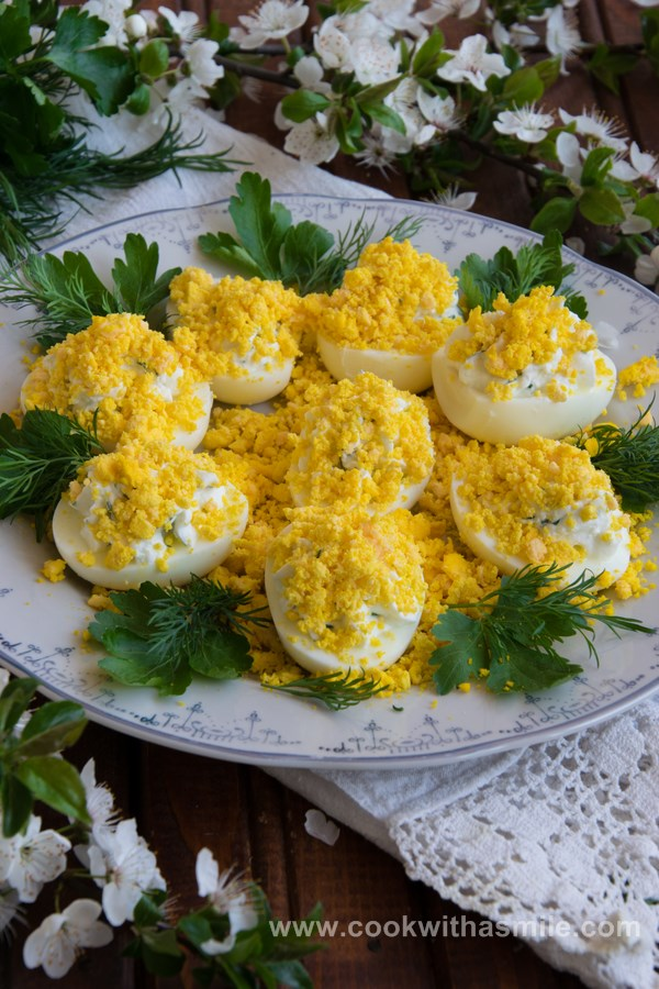яйца Мимоза с пастет от сирене рецепта