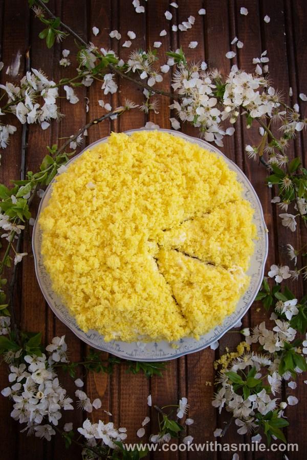 торта Мимоза