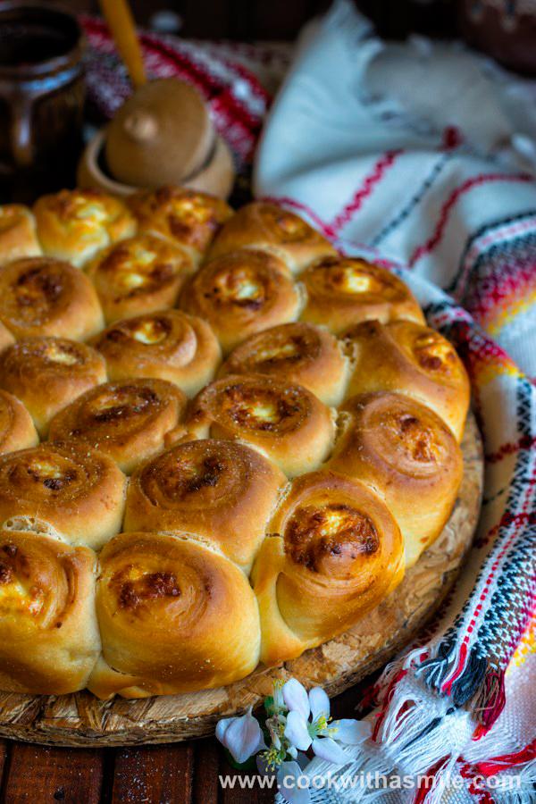въртеница с яйца сирене рецепта