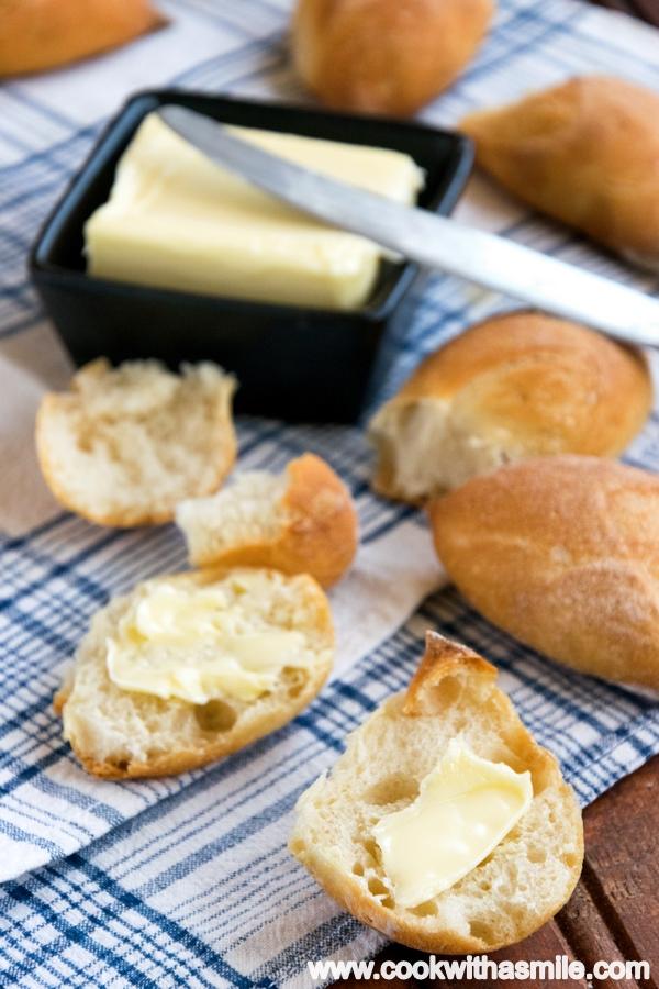 как се правят френски багети житен клас рецепта