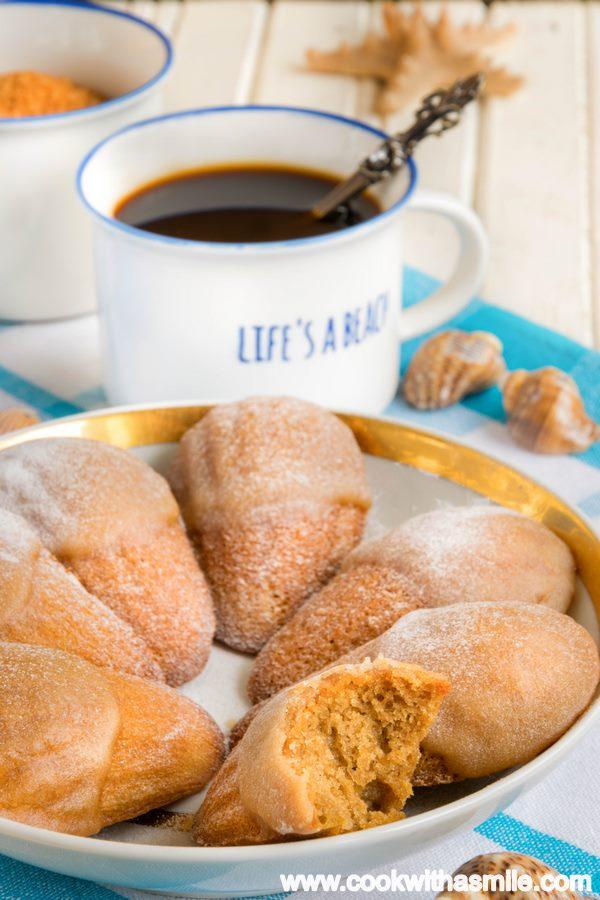 рецепта за мадлени с кафе