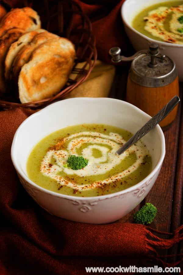 лесна крем супа от броколи рецепта