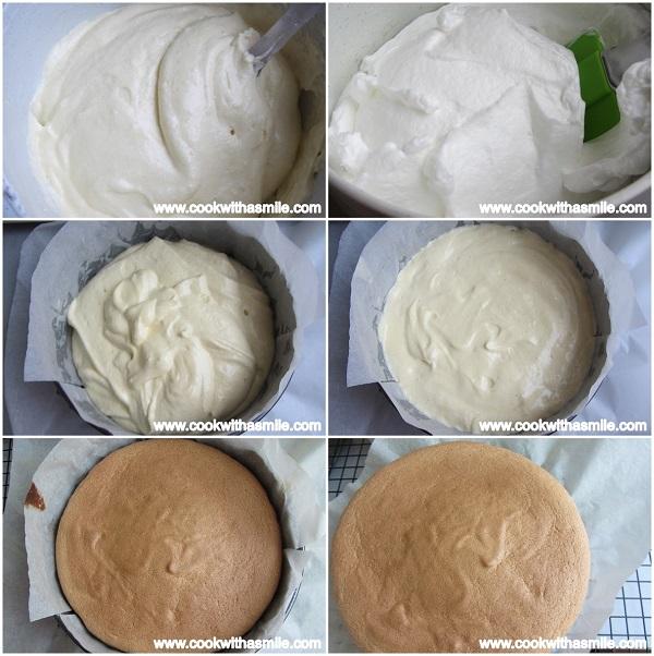 как се прави пандишпанов блат за торта и руло стъпка по стъпка