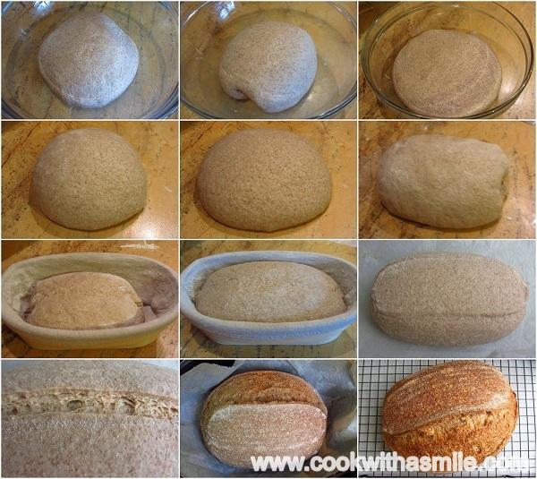 как се прави хляб с квас стъпка по стъпка