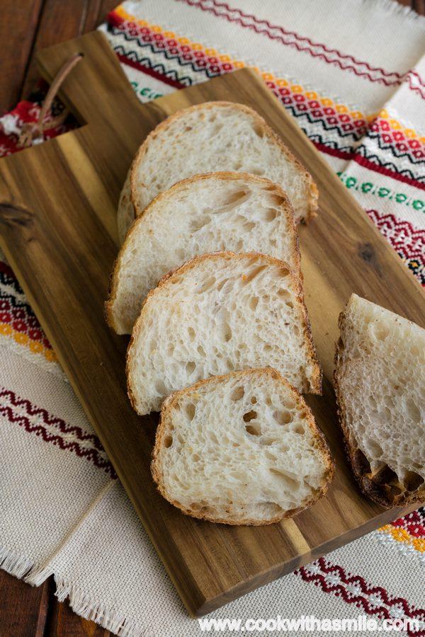 рецепта за бял хляб с квас за начинаещи