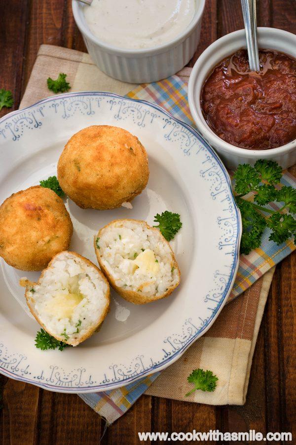 рецепта за оризови кюфтета аранчини