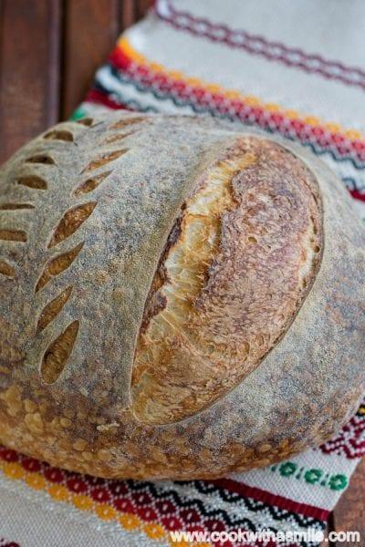 домашен бял хляб с квас
