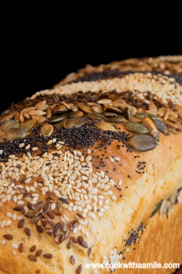 бърз домашен хляб за сандвичи