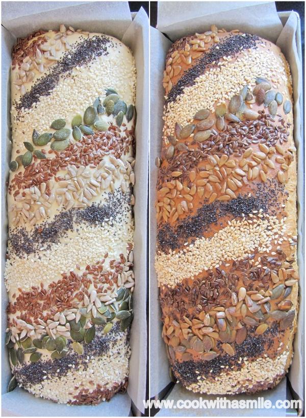 тостерен хляб със семена