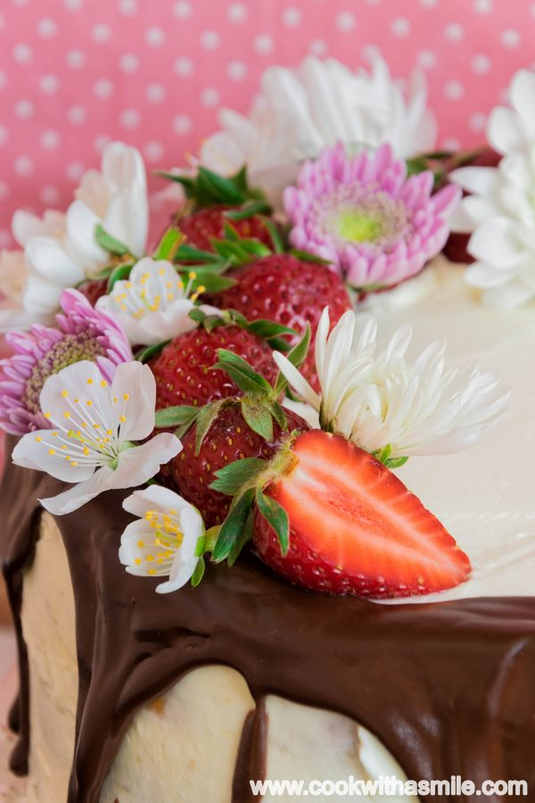 бърза козуначена торта с маскарпоне