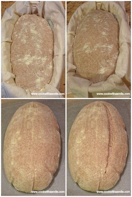 домашен пълнозърнест хляб с квас и кефир