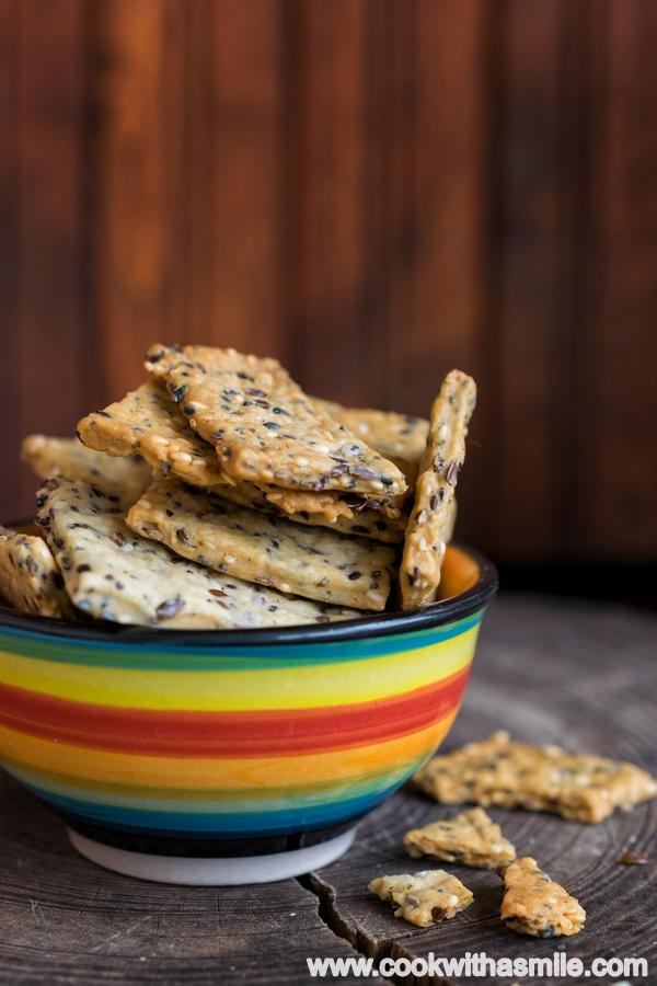 лесни крекери със семена рецепта
