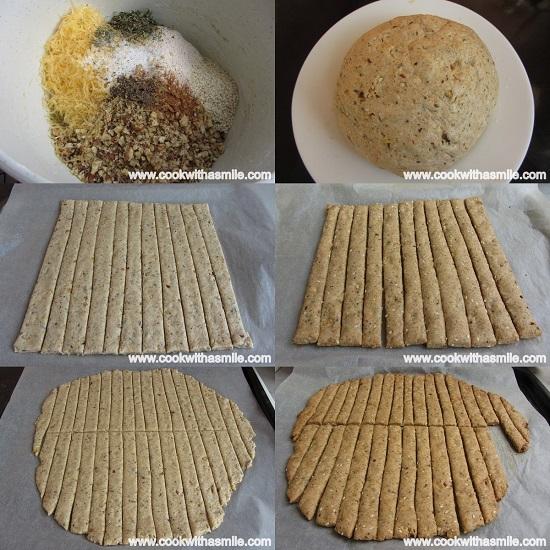 бързи лесни солени бисквити с орехи и чедър