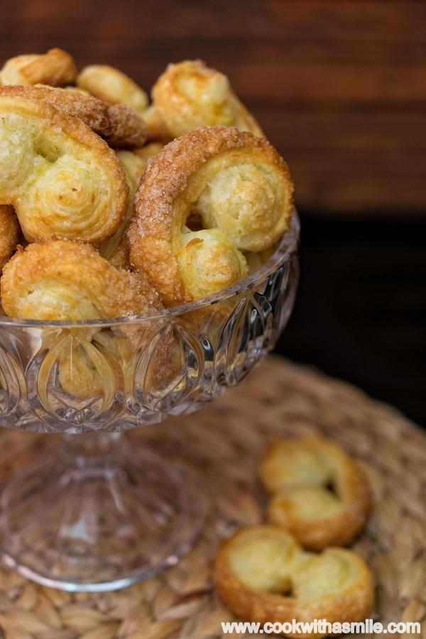 бисквити сълзици от бутер тесто