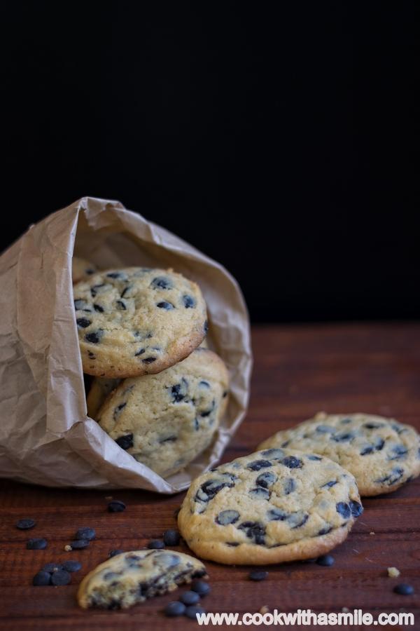 домашни бисквити с парченца шоколад