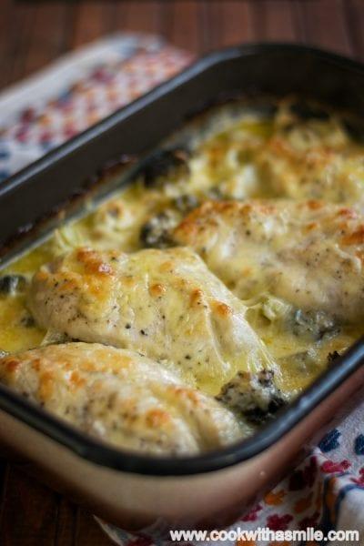 пиле-с-броколи-сирена-и-сметана-рецепта