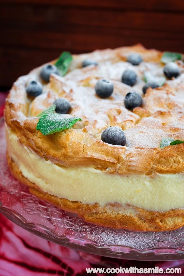полска еклерова торта рецепта