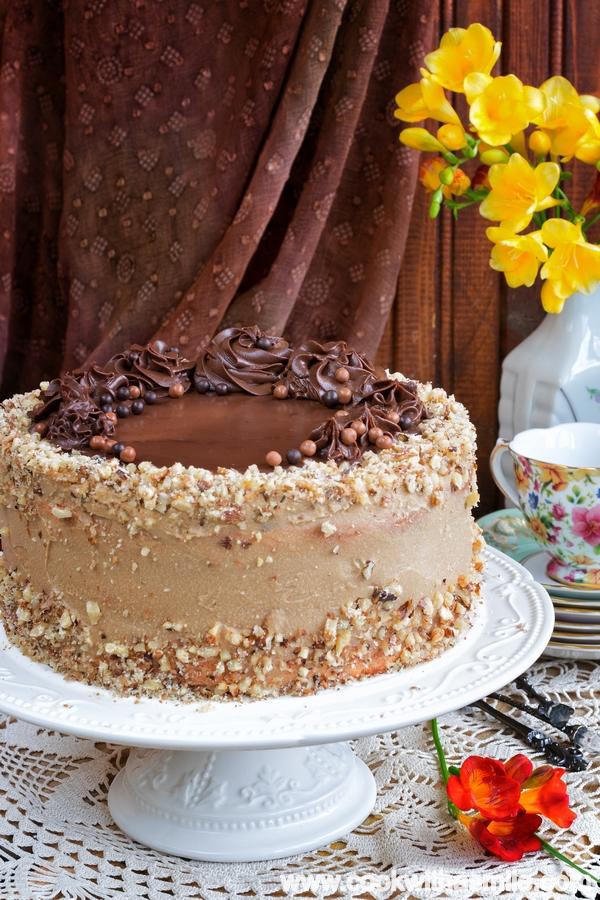 торта-Кралица-Мария-с-крем-кафе