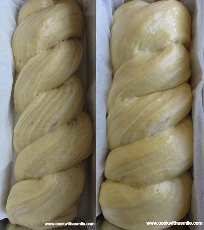 рецепта за усукан хляб стъпка по стъпка