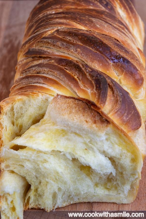 рецепта за усукан хляб бриош