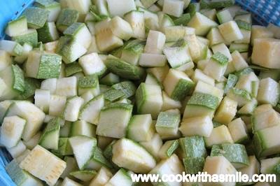 бърза рецепта за тиквички запечени на фурна