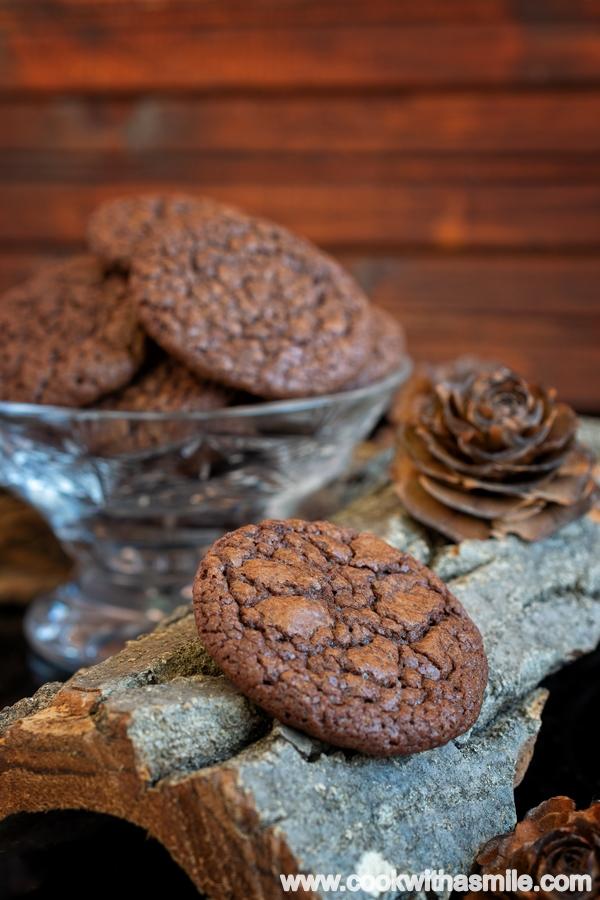 Шоколадови брауни бисквити
