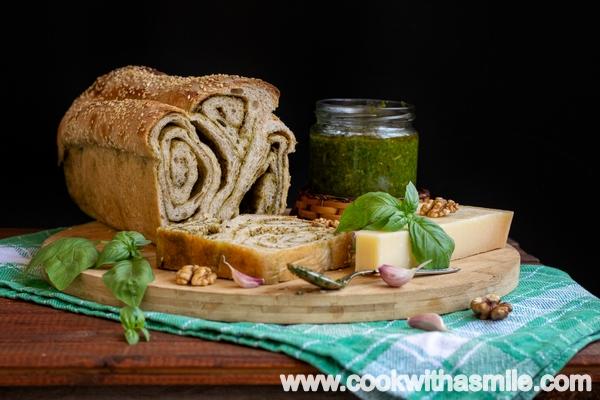 хляб с домашно песто рецепта
