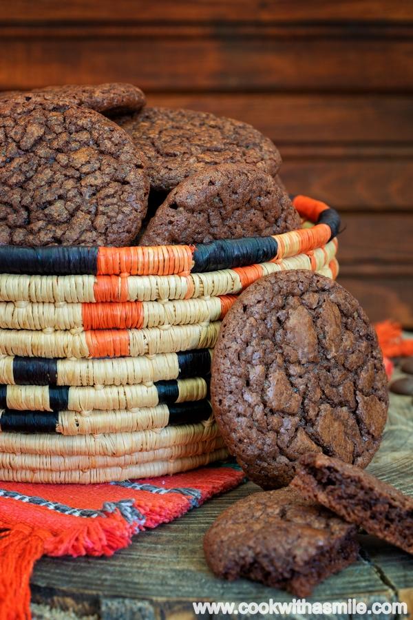 шоколадови бисквити браунис