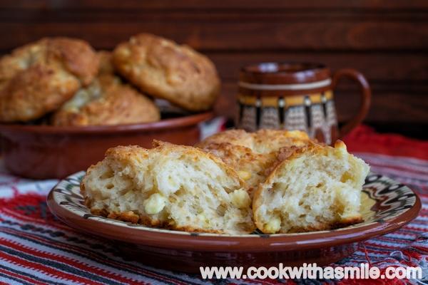 бърза лесна рецепта за добруджанки содени питки със сирене
